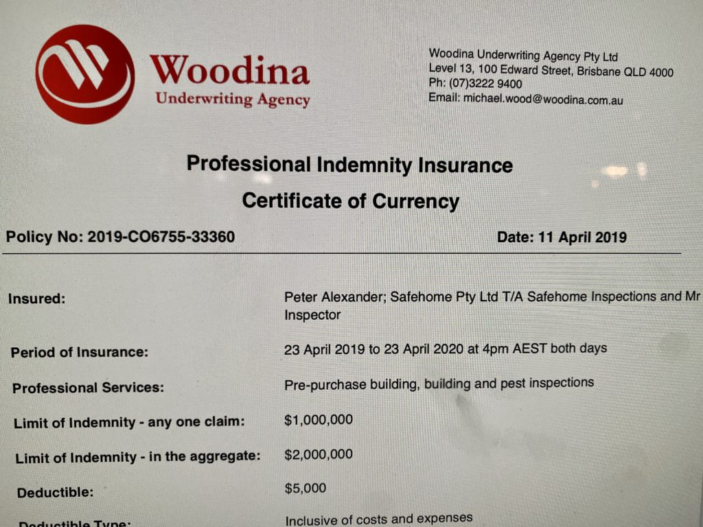 Victorian Building Inspections Costs   Mr Inspector
